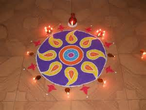 beautiful happy diwali rangoli designs patterns flowers images peacock photos 2015 newznew