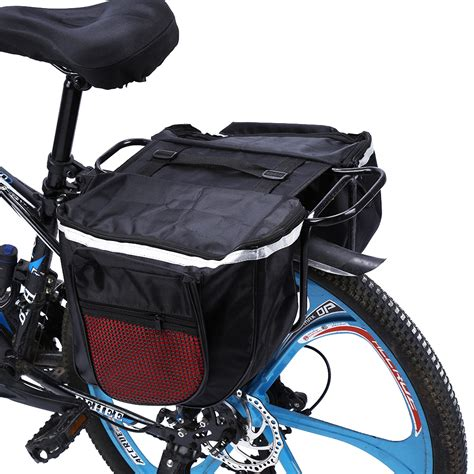bike waterproofs waterproof bike bicycle carrier rack rear seat storage bag