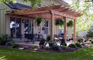 Pergola attached to the house Nice touch Home & Decor Pinterest Pergolas, Nice and House