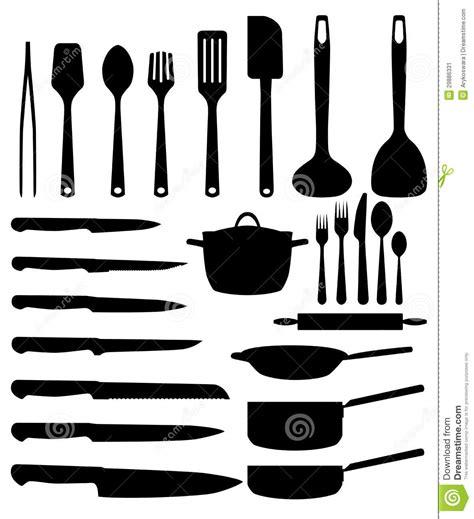 dessins de cuisine ustensile de cuisine image stock image 29886331