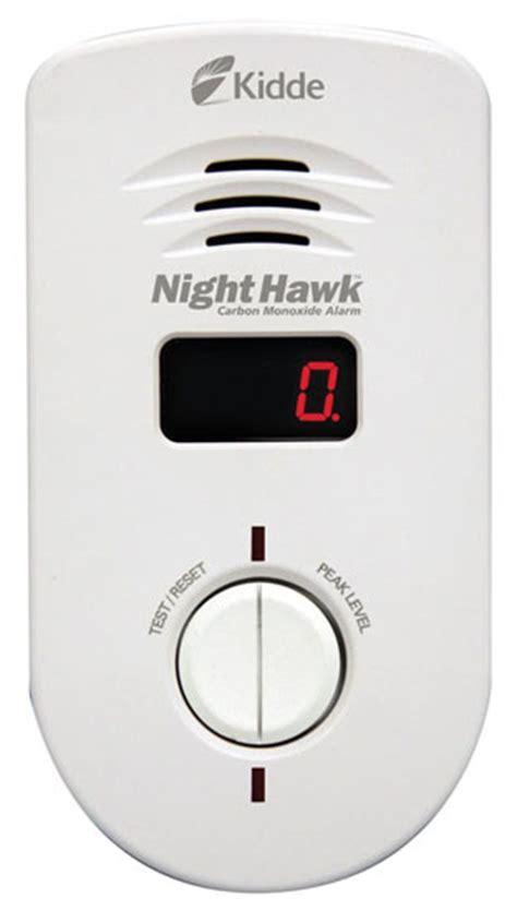 Kidde 9000234 Nighthawk Carbon Monoxide Alarm, Long Life