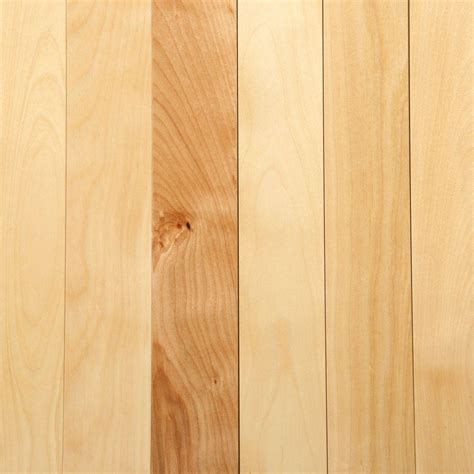 3 1 4 wood flooring mono serra canadian northern birch natural 3 4 in x 3 1 4 in wide x varying length solid