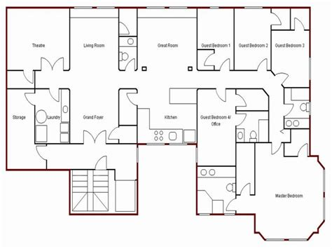 floor plans for your house create simple floor plan draw your own floor plan easy house blueprints mexzhouse com