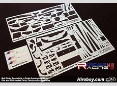 124 BMW M3 DTM Carbon Fiber Pattern Decals Revell