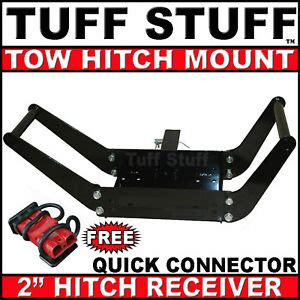 Mobile Receiver Tow Hitch Winch Mount Amp Quick