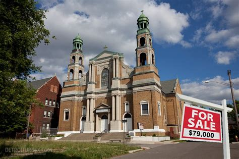 churches for sale historic 112 year old catholic church in detroit could be yours for just 79 000