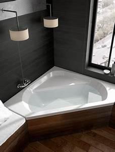 Grande Baignoire D Angle : baignoire design et contemporain aquarine ~ Edinachiropracticcenter.com Idées de Décoration
