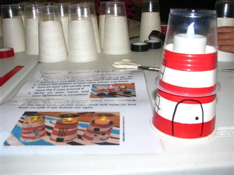 Homemade Lighthouse With Cups, Electrical Tape, Led Tea Light Candle, Black Texta Adapted From Making A Plastic Mold Surgery Lexington Ky Jungle Gym Lattice Lowes Clear Book Sleeves 8 X 11 Sign Holder How To Melt 5 Drawer Storage Tower