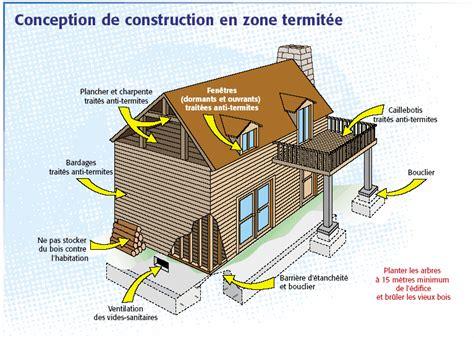 construction maison bois en zone termite entretien bois exterieur