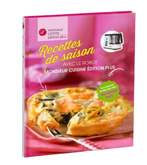 livre recette cuisine livre recettes festives monsieur cuisine lidl pdf