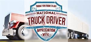 National Truck Driver Appreciation Week – Sept. 13 – 19 ...
