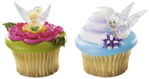 foto de DISNEY FAIRIES TINKERBELL AND PERIWINKLE CUPCAKE RINGS (12