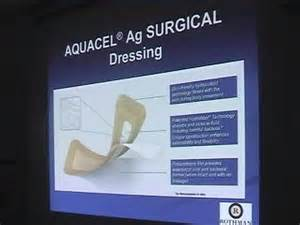 Aquacel Ag Surgical Dressing