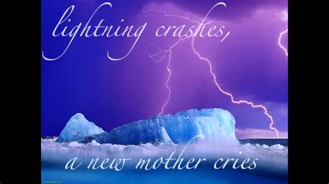 crashes lyrics live lightning crashes Lighting