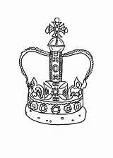Crown Coloring Princess Pages Tiara Drawing King Thorns Getcolorings Printable Jeweled Netart Getdrawings sketch template