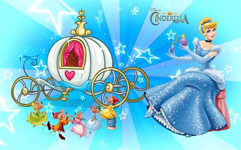 carriage  cinderella  cheerful mice walt disney