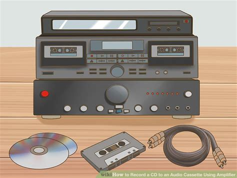 audio cassette 5 ways to record a cd to an audio cassette using lifier