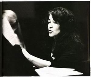 Martha Argerich - February 2004 Le Monde de la musique