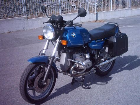 1989 Bmw R65 (reduced Effect)