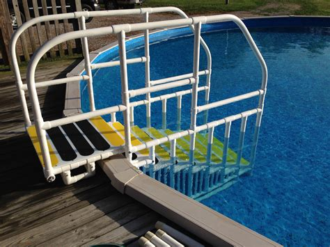 Photos Of Above Ground Pool Ladders