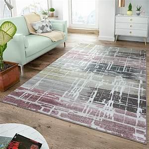 Teppich Grün Grau : moderner kurzflor teppich shabby chic blush t ne multicolor in rosa grau gr n moderne teppiche ~ Markanthonyermac.com Haus und Dekorationen