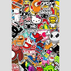 Sticker Bomb Wallpaper Hd Wallpapersafari A Collection Of Iphone 4s Wallpapers Naldz Graphics