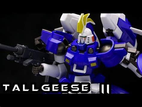 robot damashii spirits tallgeese ii exclusive figure review youtube