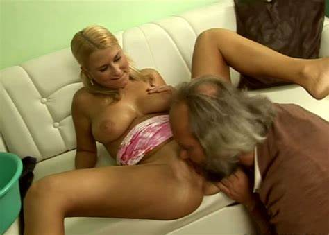 Ripened Blondes For An Old Fart Nubile Kinky Studies Is Filled Lust By Old Fart In Dark
