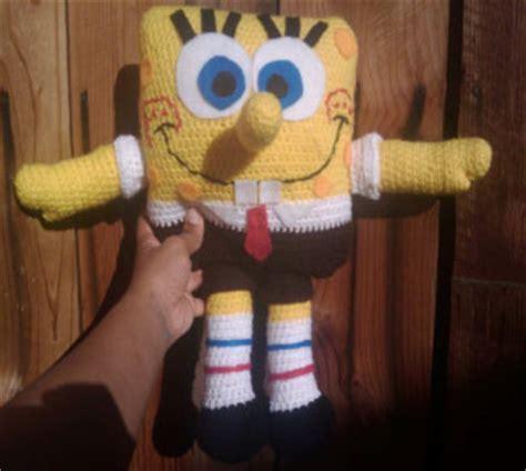 spongebob pattern  crochet crochet kingdom
