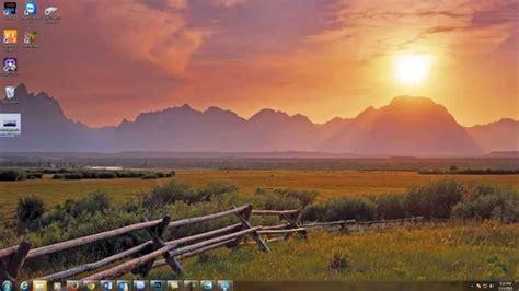 How To Change Windows 7 Desktop Background Youtube