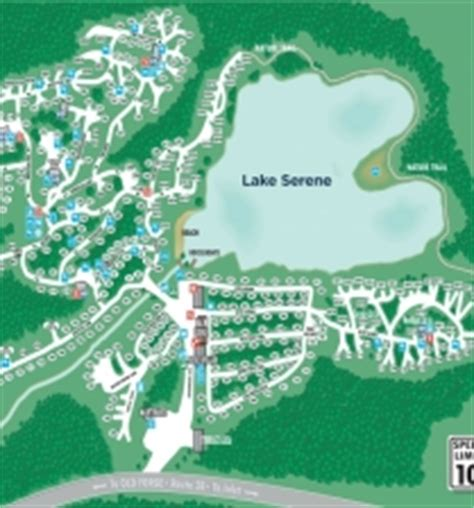 property map  forge camping resort