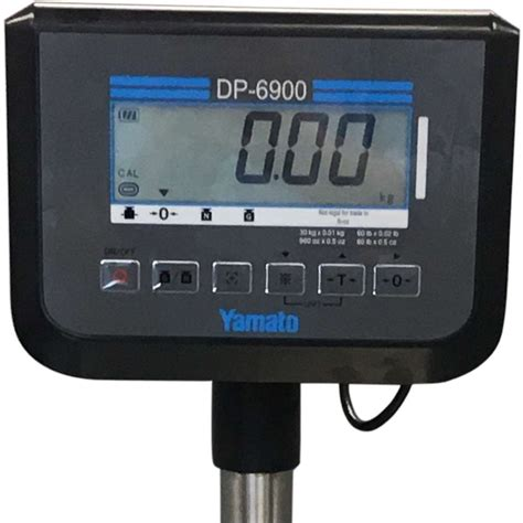 yamato accu weigh dp  stainless steel digital scale  lb