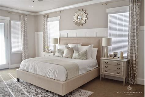 Bedroom Decorating Ideas Neutral Colors by Curtains For Master Just One Per Window Home