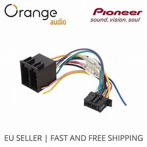 Avh Pioneer New 16 Pin To Iso Wiring Lead Radio Connector