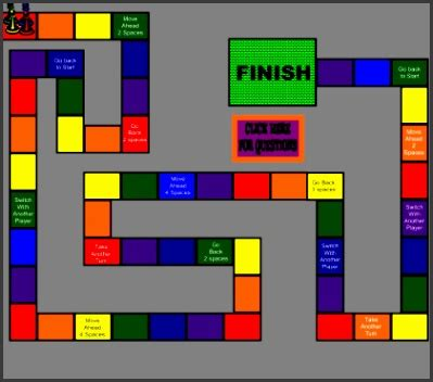 colorful board game template sampletemplatess