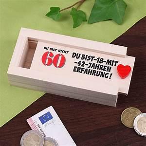 Geschenke Für Hobbygärtner : geldkiste zum 60 geburtstag geschenke ~ Sanjose-hotels-ca.com Haus und Dekorationen