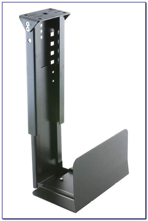 desk computer mount diy desk home design ideas