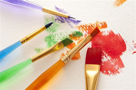 free stock photo 12145 assorted colors and paintbrushes freeimageslive