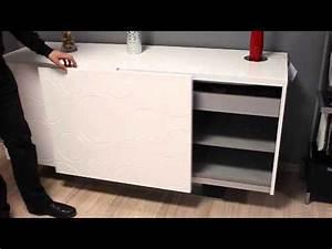 buffet cuisine blanc meublesline meuble de cuisine bas With attractive meuble bas maison du monde 6 meuble blanc 23 ou 4 tiroirs
