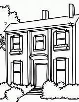 Coloring Pages Gingerbread Neighborhood Template Popular Clipartmag Coloringhome sketch template