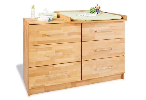 bureau en bambou pinolino commode table à langer natura large en