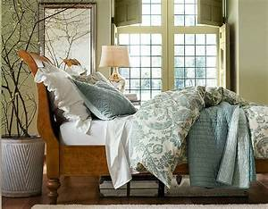 28 elegant and cozy interior designs by pottery barn With bed comforters pottery barn