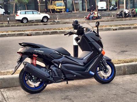 Modifikasi Yamaha Nmax by Modifikasi Yamaha Nmax Hitam Modifikasi Motor Kawasaki