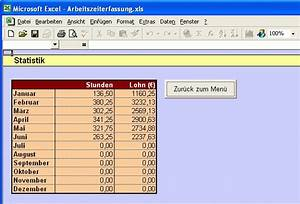 Excel Jahre Berechnen : arbeitszeiterfassung f r excel download ~ Themetempest.com Abrechnung