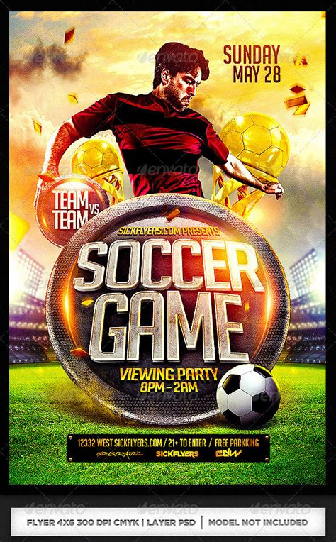 world cup brazil psd flyer templates web graphic