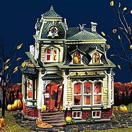 another cool house i heart halloween villages