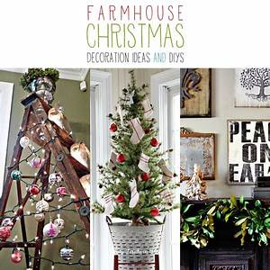 Farmhouse Christmas Decoration Ideas and DIYs The