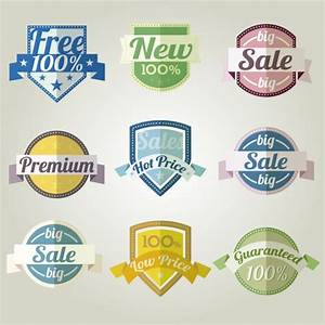 Sale Discount Label Collection Vector | Free Download