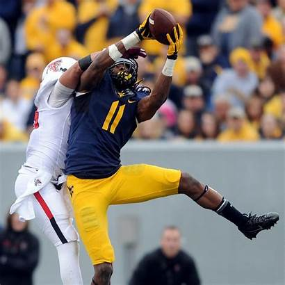 Kevin Wvu Wide Gazette Receiver Rough Mountaineers