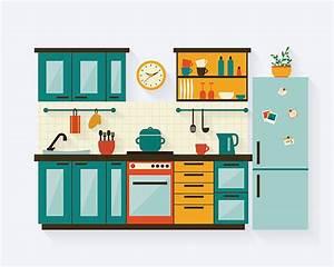 Kitchen Clip Art, Vector Images & Illustrations - iStock